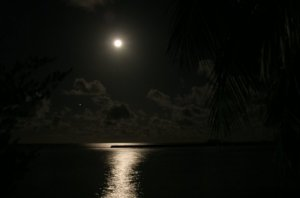 Maldivian Moon
