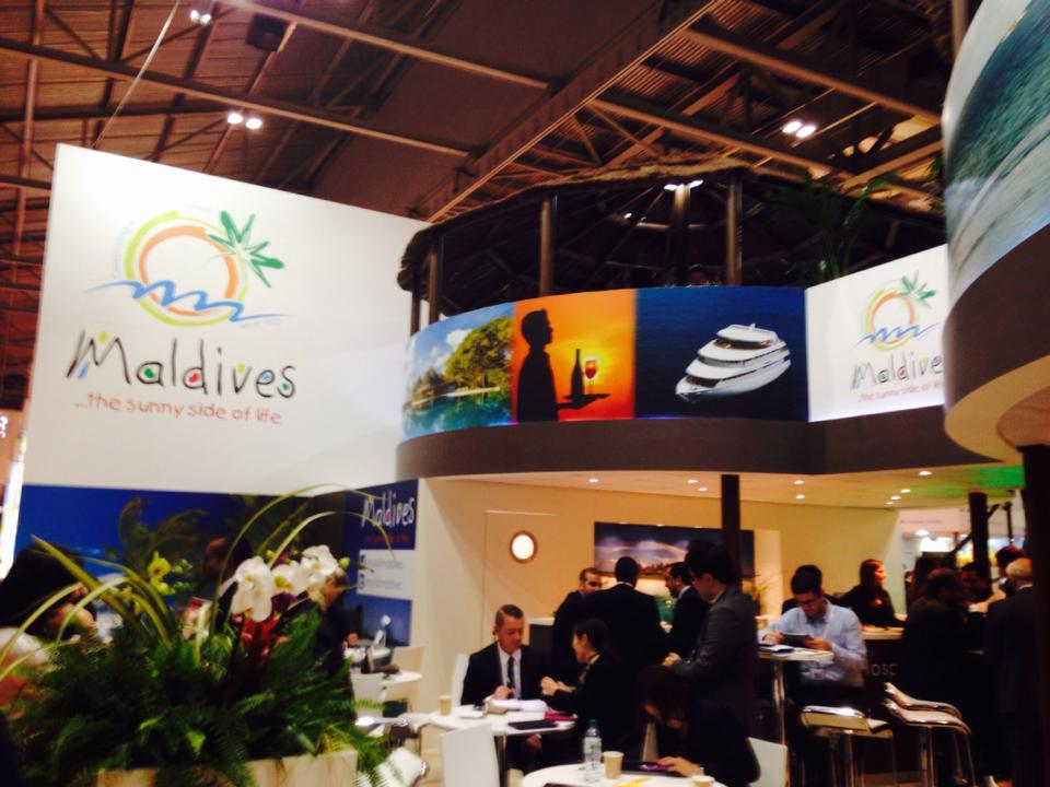 Backpack Maldives visits World Travel Market