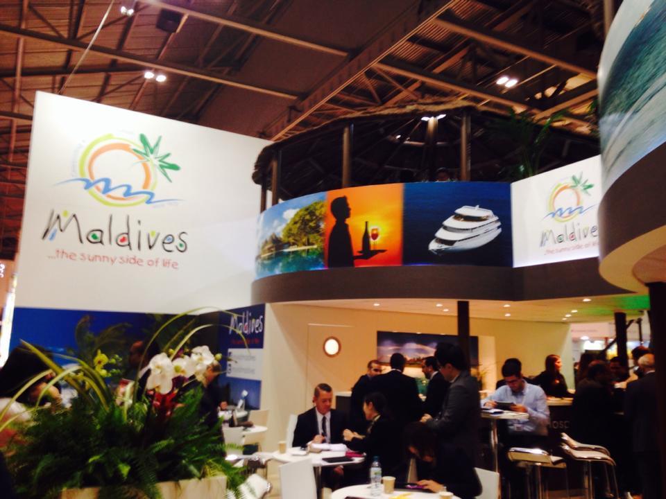 Backpack Maldives visits World Travel Market